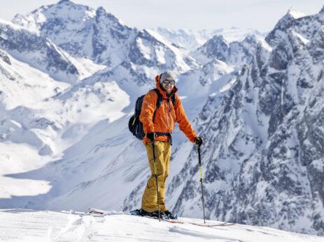 Skifahrer - Skitourengänger