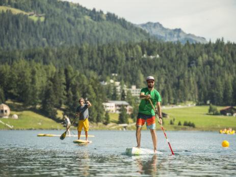 Standup Paddle auf dem Davoser See