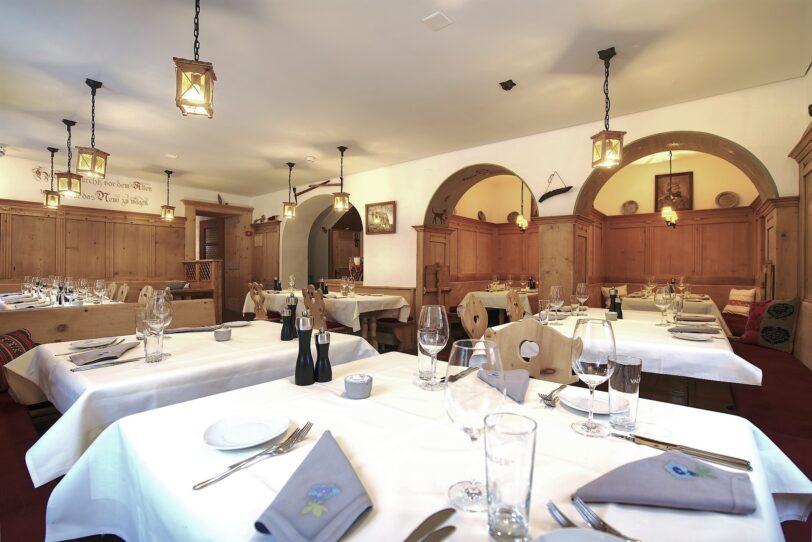 Restaurant Wynegg mit Nischen, Hauptrestaurant