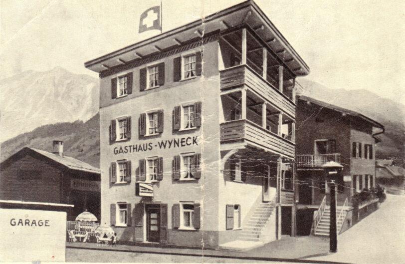 Gasthaus Wyneck alte Aussenansicht