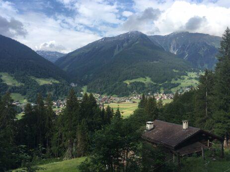 Blick nach Klosters